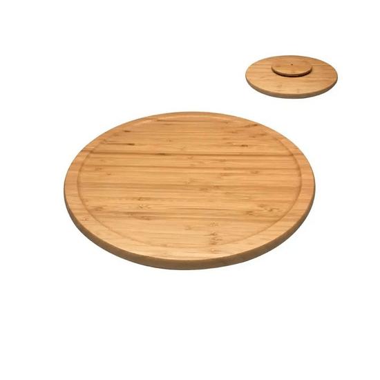 Tábua de Bambu Com Base Giratória Oikos