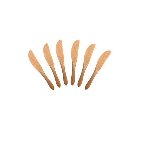 Conjunto de - 6 Mini Facas de Bambu Oikos