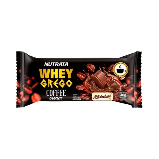 Barra Whey Grego Bar Coffee Chocolate Nutrata - 40g