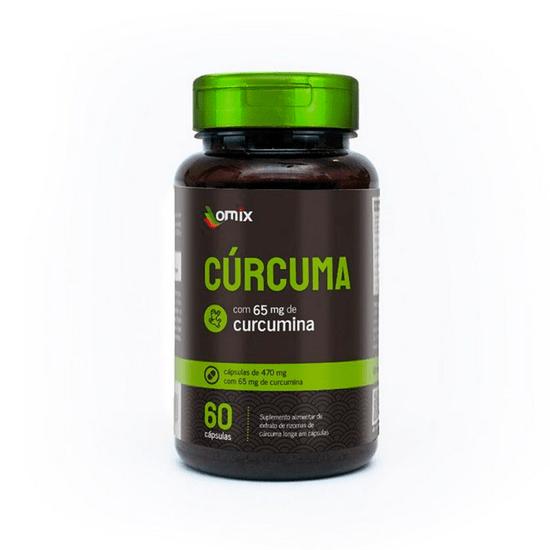 Curcuma Longa - 470mg Orientmix 60 Capsulas