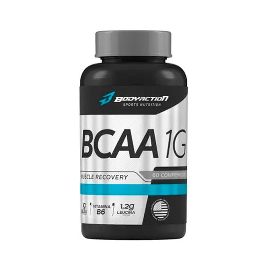 Bcaa - 1g Body Action 60 Comprimidos