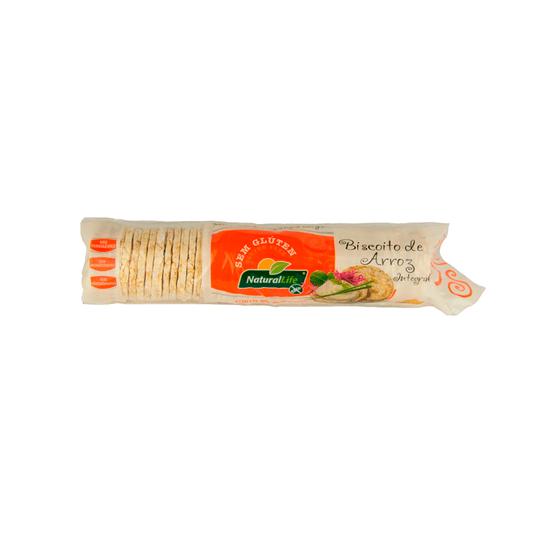 Biscoito de Arroz Sem Glúten Natural Life - 80g