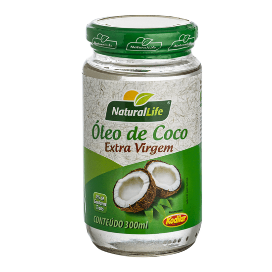 Óleo de Coco Extra Virgem Natural Life - 300ml