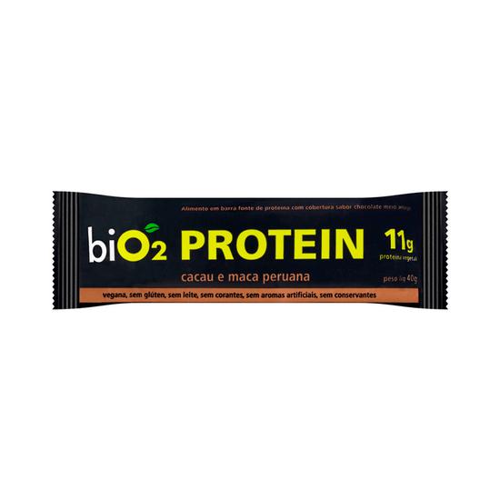 Barra Protein Sabor Cacau e Maca Peruana Bio- 2 40g