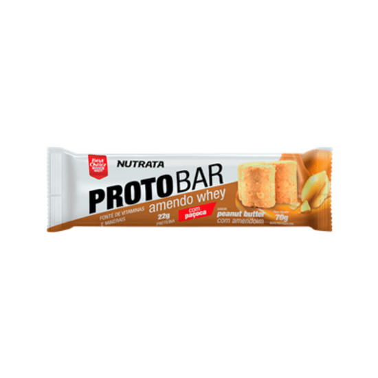 Barra Protobar Amendo Whey Nutrata  - 70g