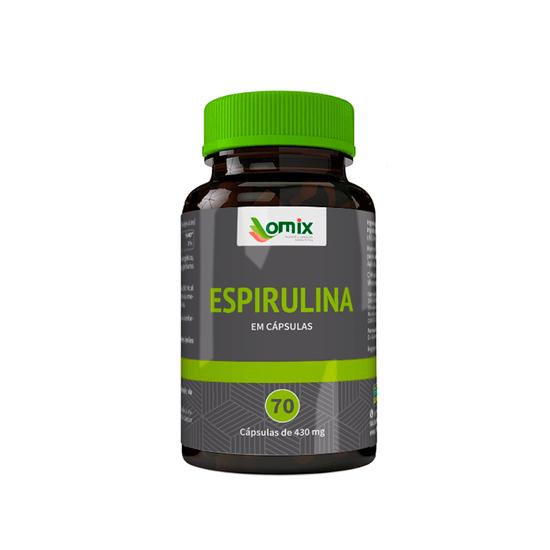 Espirulina - 70 Capsulas Orientmix