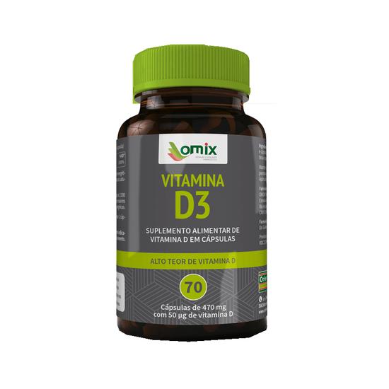 Vitamina D- 3 70 Capsulas Orientmix
