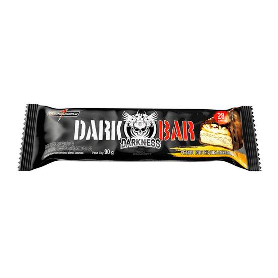 Whey Bar Darkness Peanut Butter Com Amendoim Integralmédica - 90g